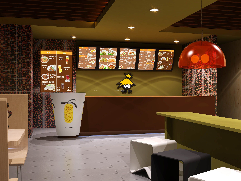 冷饮店装修效果图片