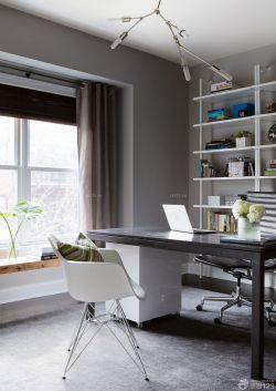 書房設計電腦桌效果圖