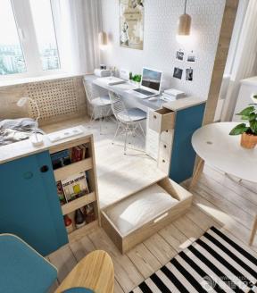 一室一廳房子裝修圖 小戶型收納設計