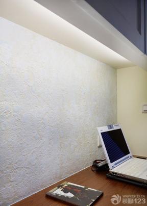 40平小公寓装修效果图 压纹壁纸