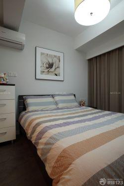 現代美式臥室設計效果圖