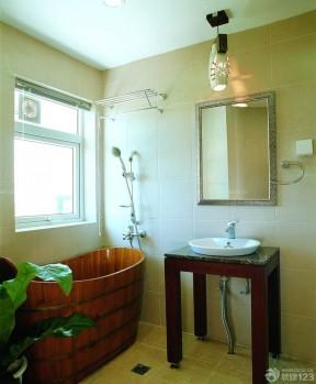 一室兩廳改兩室一廳 木質浴盆