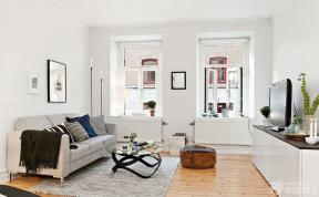 北歐風格客廳效果圖 一室兩廳改兩室一廳