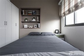 一室一廳臥室裝修圖 小戶型臥室衣柜