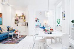 50平一室一廳小戶型北歐風格裝修圖片
