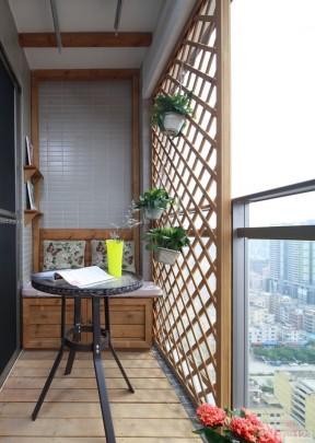 小户型旧房改造装修 阳台设计