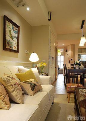 美式沙發裝修圖片 美式鄉村風格客廳