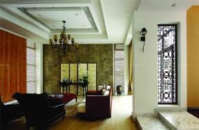 東南亞風格裝修設計 經典客廳裝修圖片