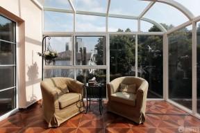 小美式風格裝修圖片 樓頂陽光房