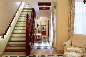樓梯設計 田園風格家居