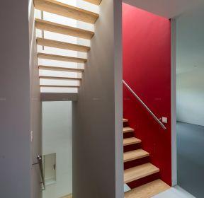 樓梯間不銹鋼樓梯扶手設計圖片-每日推薦
