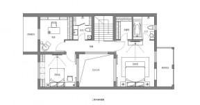 小型別墅戶型圖