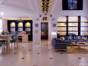 家裝地中海風格圖片 拼花地磚