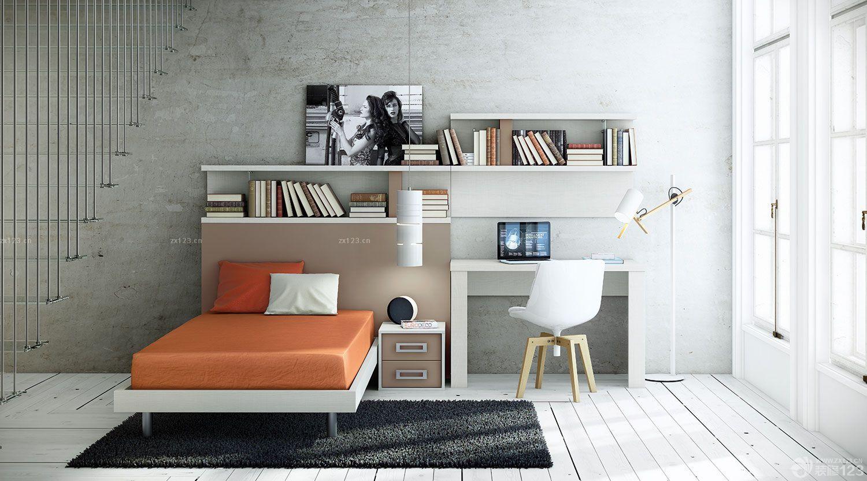 极简欧式风格小户型房间设计图大全图片