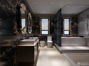 豪華中式 衛生間設計