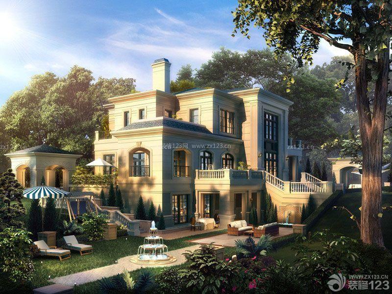 经典欧式世界上最豪华别墅装修图片