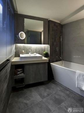 一室一廳簡約裝修圖 小戶型浴室