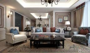 现代美式家具装修图片