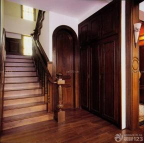 中式風格設計 樓梯設計