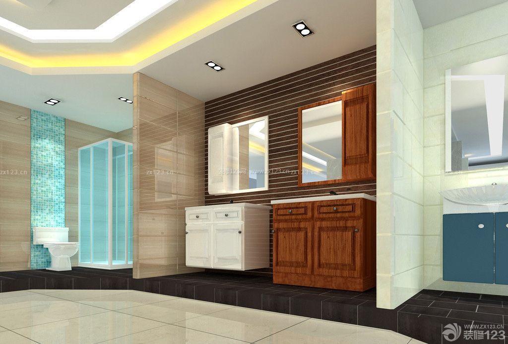 最新卫浴店面展示区装修效果图欣赏