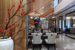 新中式風格 復式房