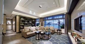 美式现代客厅