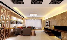 客廳吊頂造型 18平米客廳裝修
