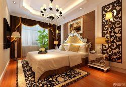 大臥室擺放歐式風格家具圖片