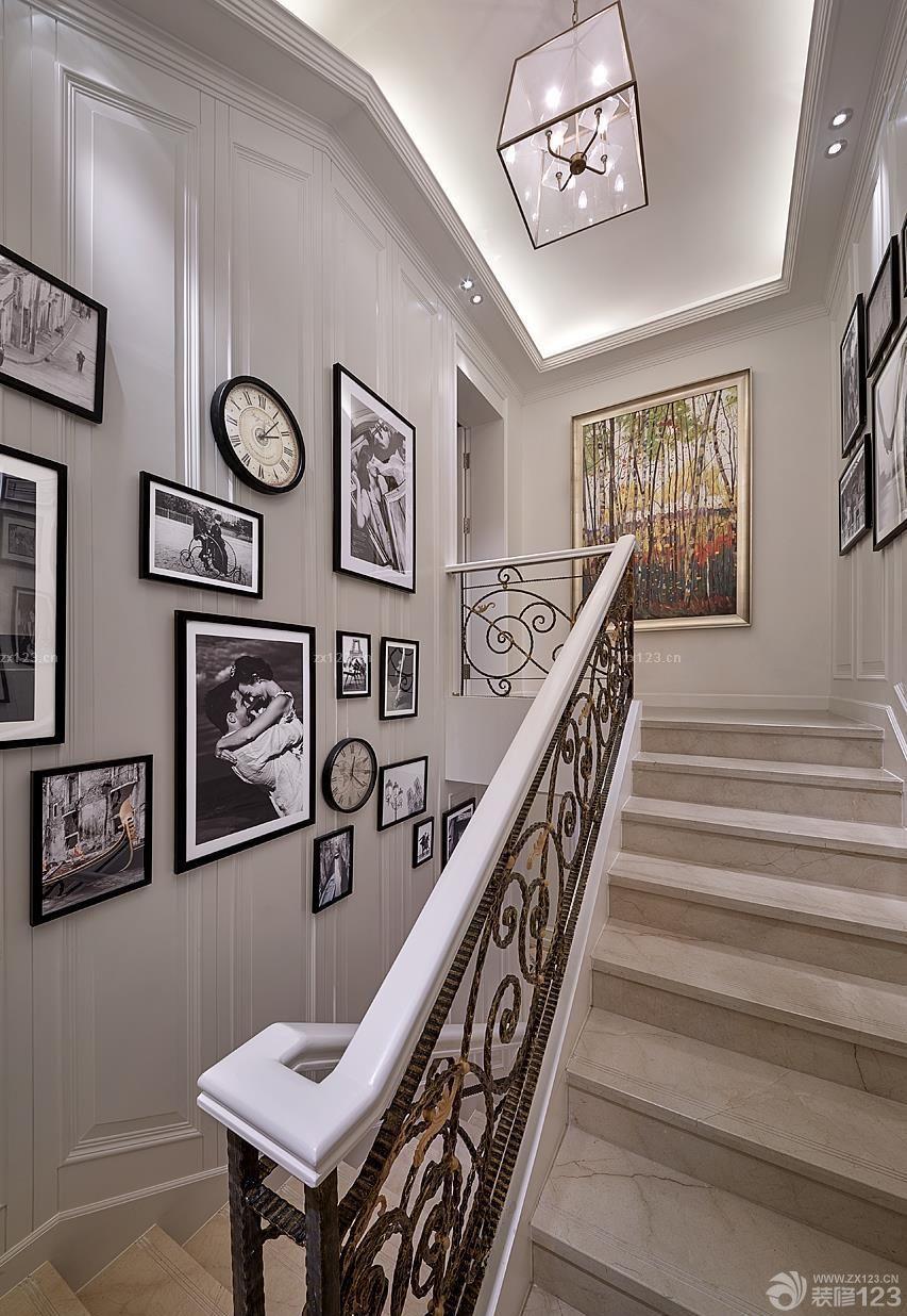 工装效果图 楼梯 楼梯间照片墙拼图欣赏 提供者:   ← → 可以翻页