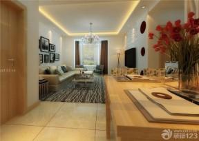 客廳吊頂造型 樣板房設計