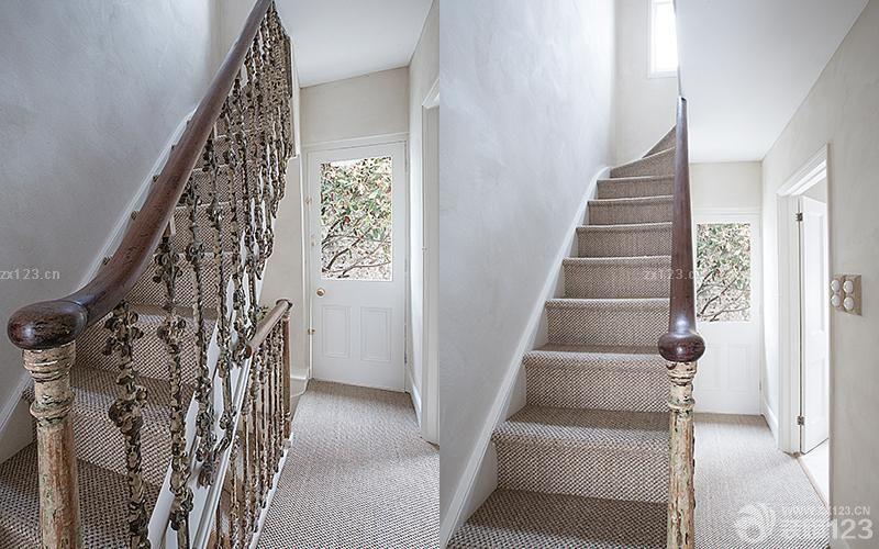 最新美式风格楼梯栏杆扶手设计图片图片