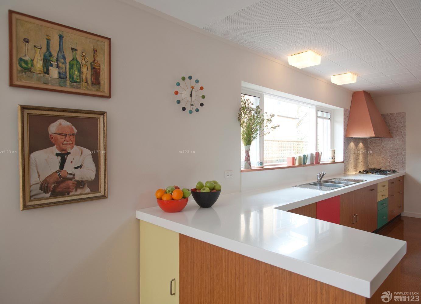 经典房屋客厅美式灯具设计图片