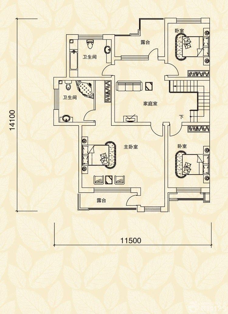 平方三室一厅设计图纸_平方三室一厅设计图纸图片分享