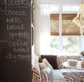 客廳玄關隔斷溫馨家庭客廳玄關隔斷圖片-每日推薦