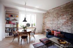 50平兩室一廳墻面裝飾效果圖