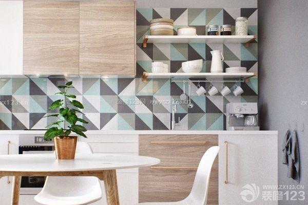 厨房墙砖装修效果图