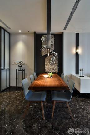 現代風格實木家具 家庭餐廳