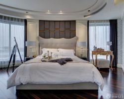 新房臥室床頭背景墻裝修效果圖片