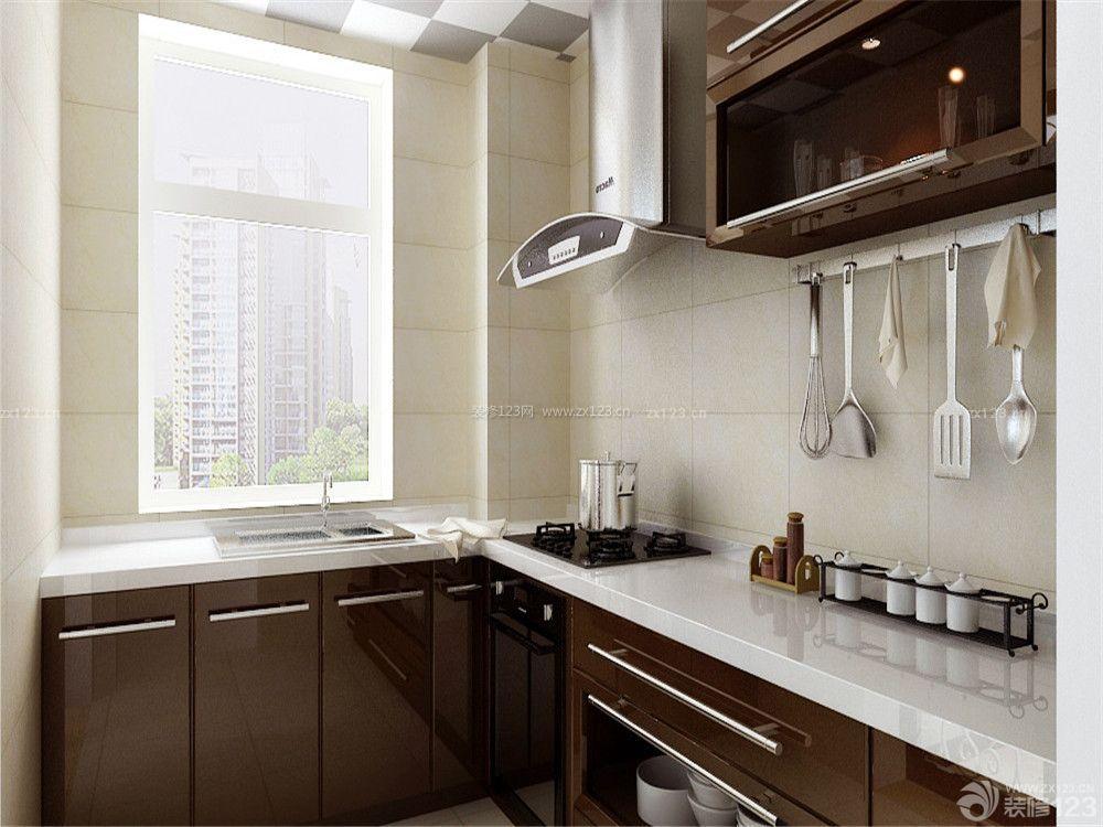 6平米整体厨房装修效果图大全