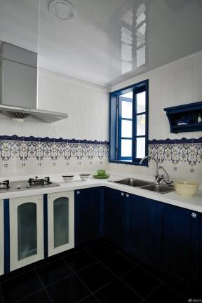 2017地中海风格厨房墙砖贴图