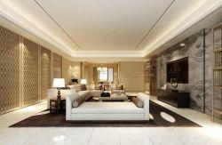 大客廳現代中式家具擺放案例