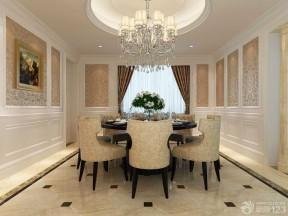 房屋裝修樣板房 餐廳設計