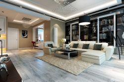 新房沙發背景墻裝修樣板房