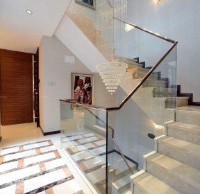 不銹鋼樓梯扶手裝修圖片-每日推薦