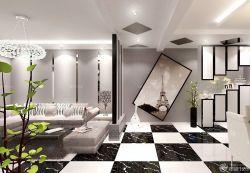 家裝客廳隔斷設計樣板房