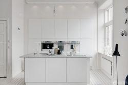 開放式廚房櫥柜中島裝修圖片欣賞