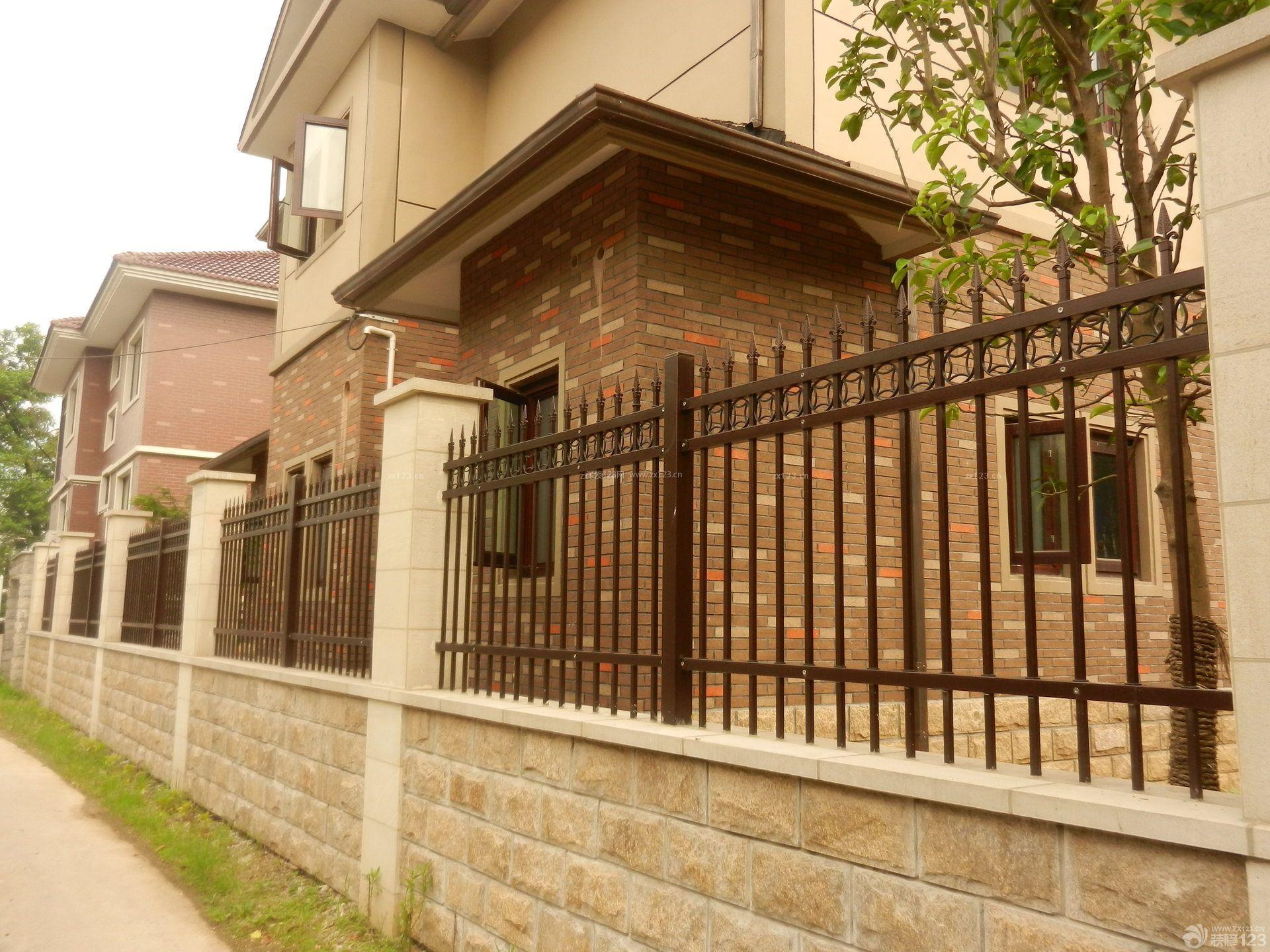 别墅围墙 二层半别墅图片