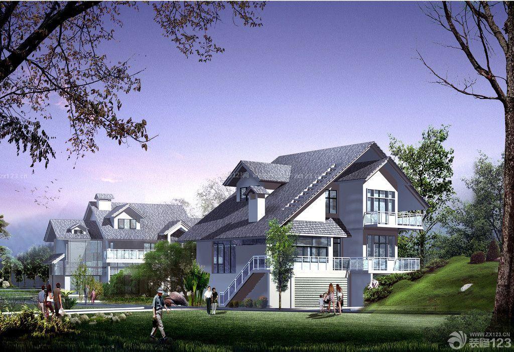 中式别墅外观