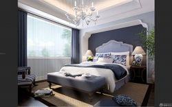 最新主臥室雙人床設計圖