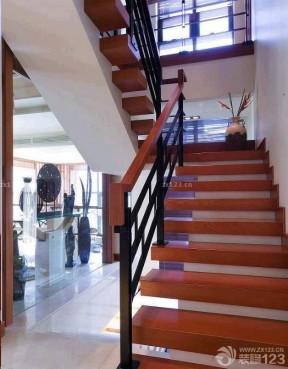 閣樓樓梯設計 實木樓梯